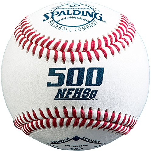 (Spalding 500 Series Nfhs Premium Leather Baseball 1 Dozen)