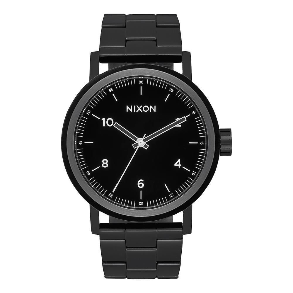 Nixon Reloj Analogico para Hombre de Cuarzo con Correa en Acero Inoxidable A1192-756-00