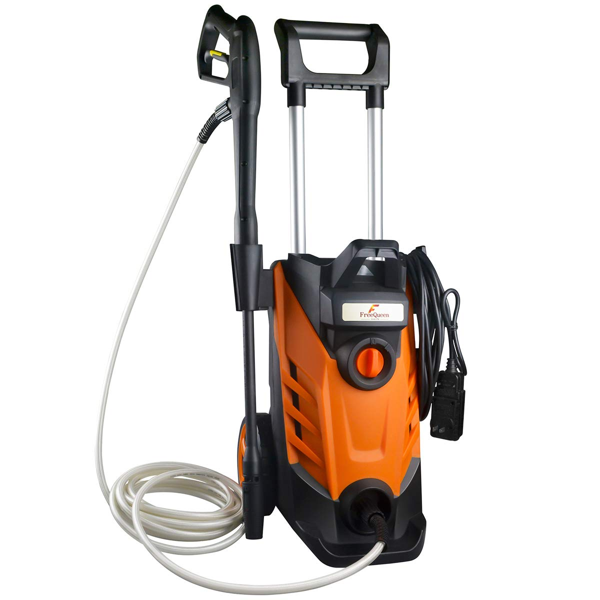 2180 PSI 2.4 GPM 15-Amp Electric Pressure Washer 1800W Power Cleaner Machine with High Pressure Hose and Sprayer