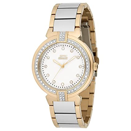 SLAZENGER Womens Round Dial Analogue Watch-SL91085302