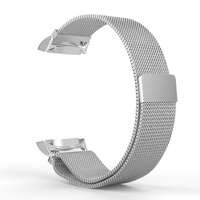 33 opinioni per Kepuch Milanese Samsung Gear S2 Cinturino- Con Unico Magnete di Blocco Band
