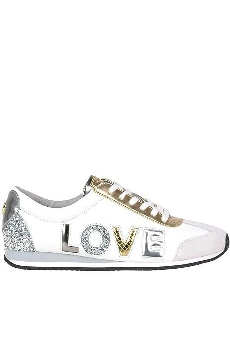 Michael By Michael Kors Mujer MCGLCAK000005152E Blanco Cuero Zapatillas: Amazon.es: Zapatos y complementos