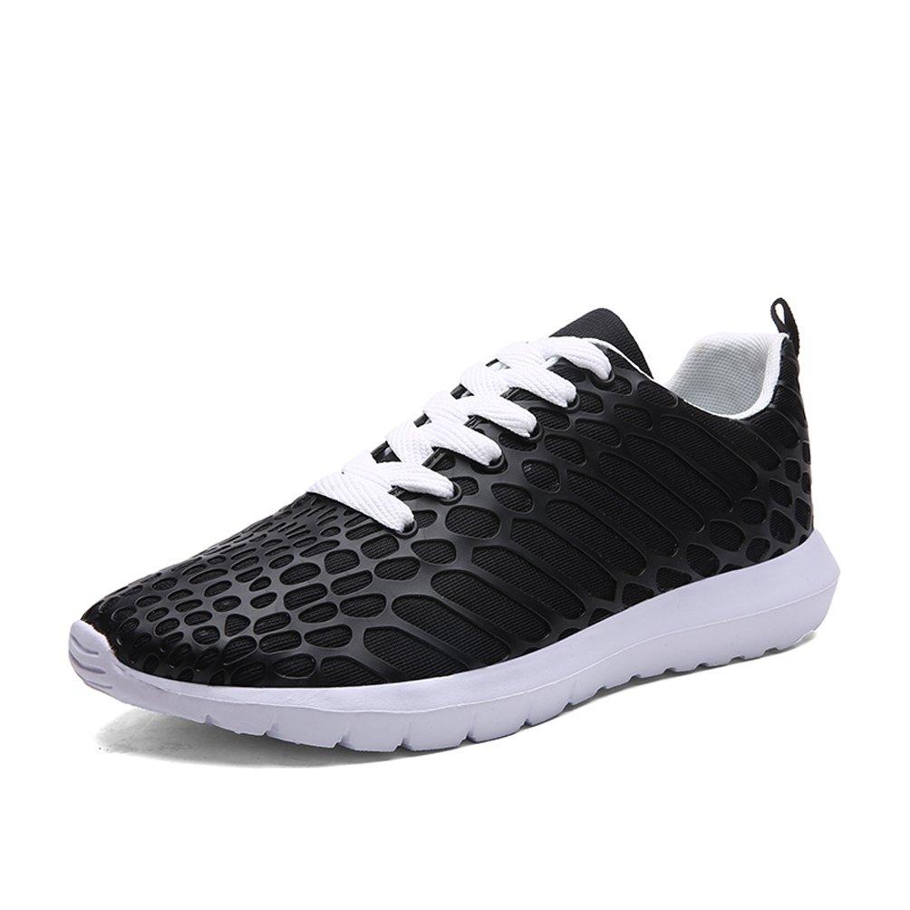 Dannto Herren Damen Sneakers Bequeme Freizeit Schnuuml;rer Profilsohle Laufschuhe Sportschuhe Turnschuhe  36 EU|schwarz-C