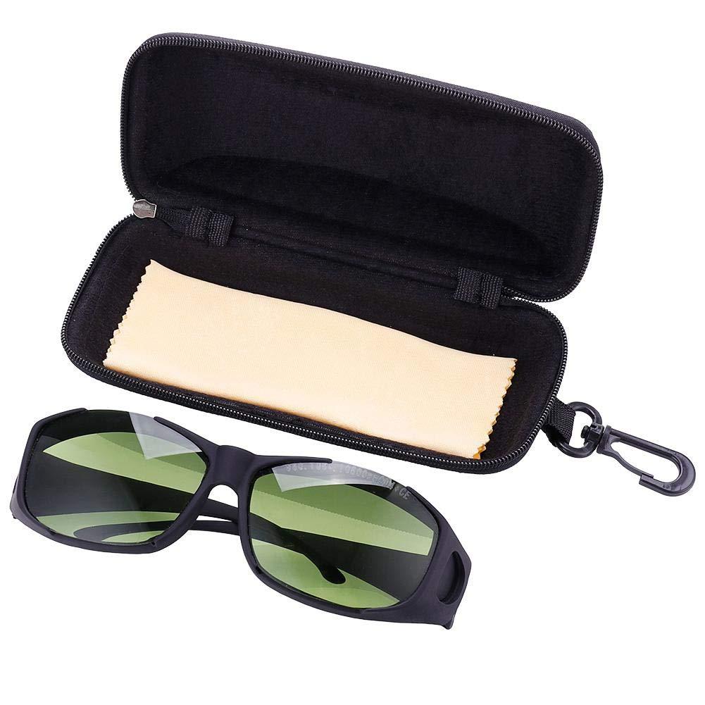 Rocomoco - Gafas protectoras de seguridad láser de 980 nm, 1064 nm, 10600 nm (10,6 um) de longitud de onda para belleza y cosmetología Protección de ojos, marca de fibra/soldadura/cortadora