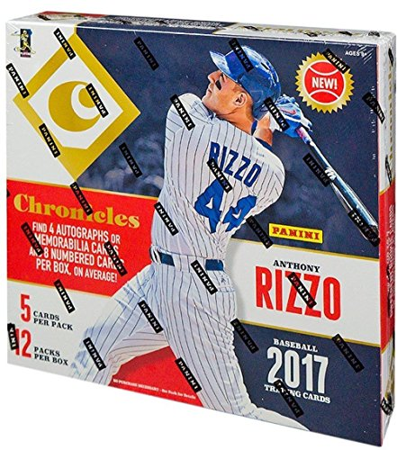 2017 Panini Chronicles MLB Baseball HOBBY box (12 pk) ()