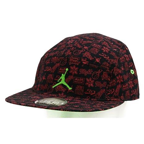 1725306e Amazon.com : Nike mens JORDAN MARS 5-PANEL 716584-010 - BLACK/GYM ...