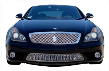 Amazoncom Mercedes Benz CLS550 Stainless Steel Chrome Dual Weave