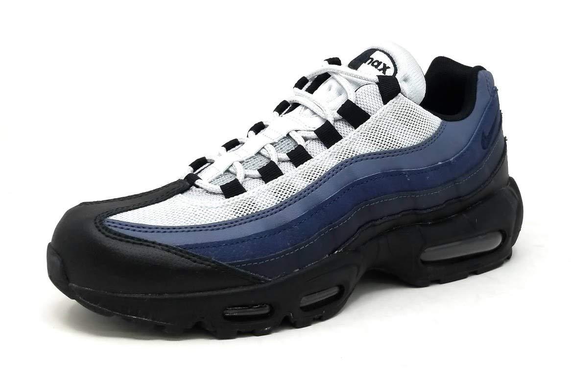 cb8b70e2db55 Galleon - NIKE Air Max 95 Men s Essential Shoes Black Obsidian Navy Blue  749766-028 (7.5 D(M) US)