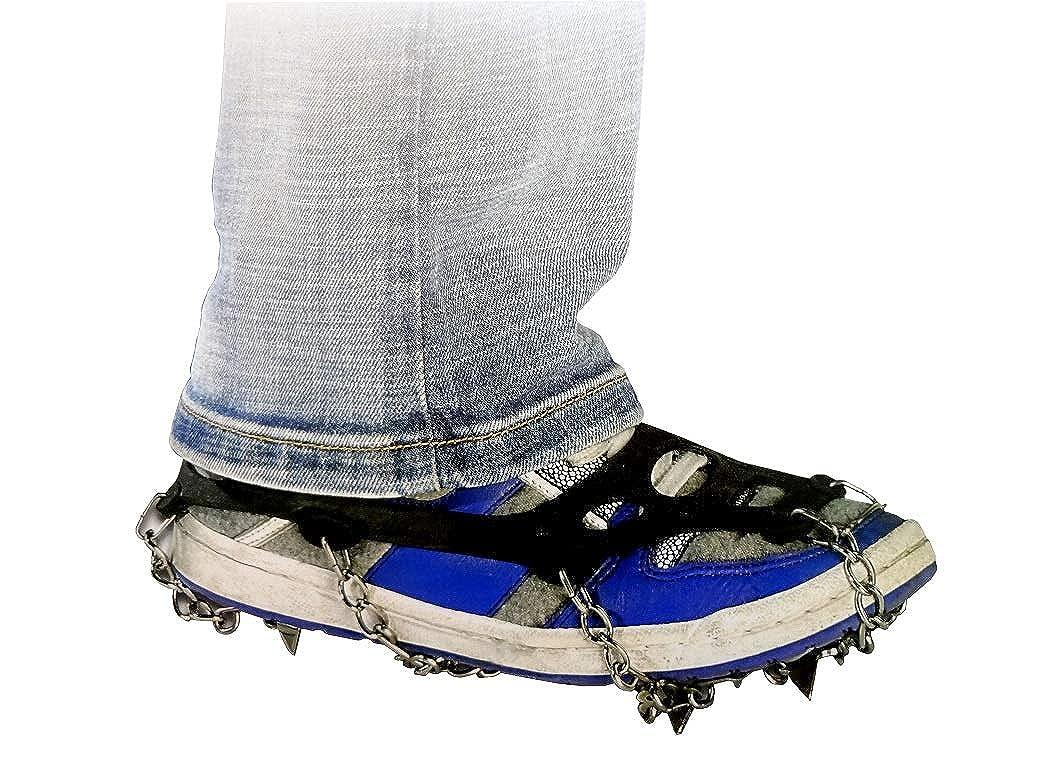 Cadenas de Nieve para Guantes de protección Pinchos Lubricante para Zapatos con 8Puntas