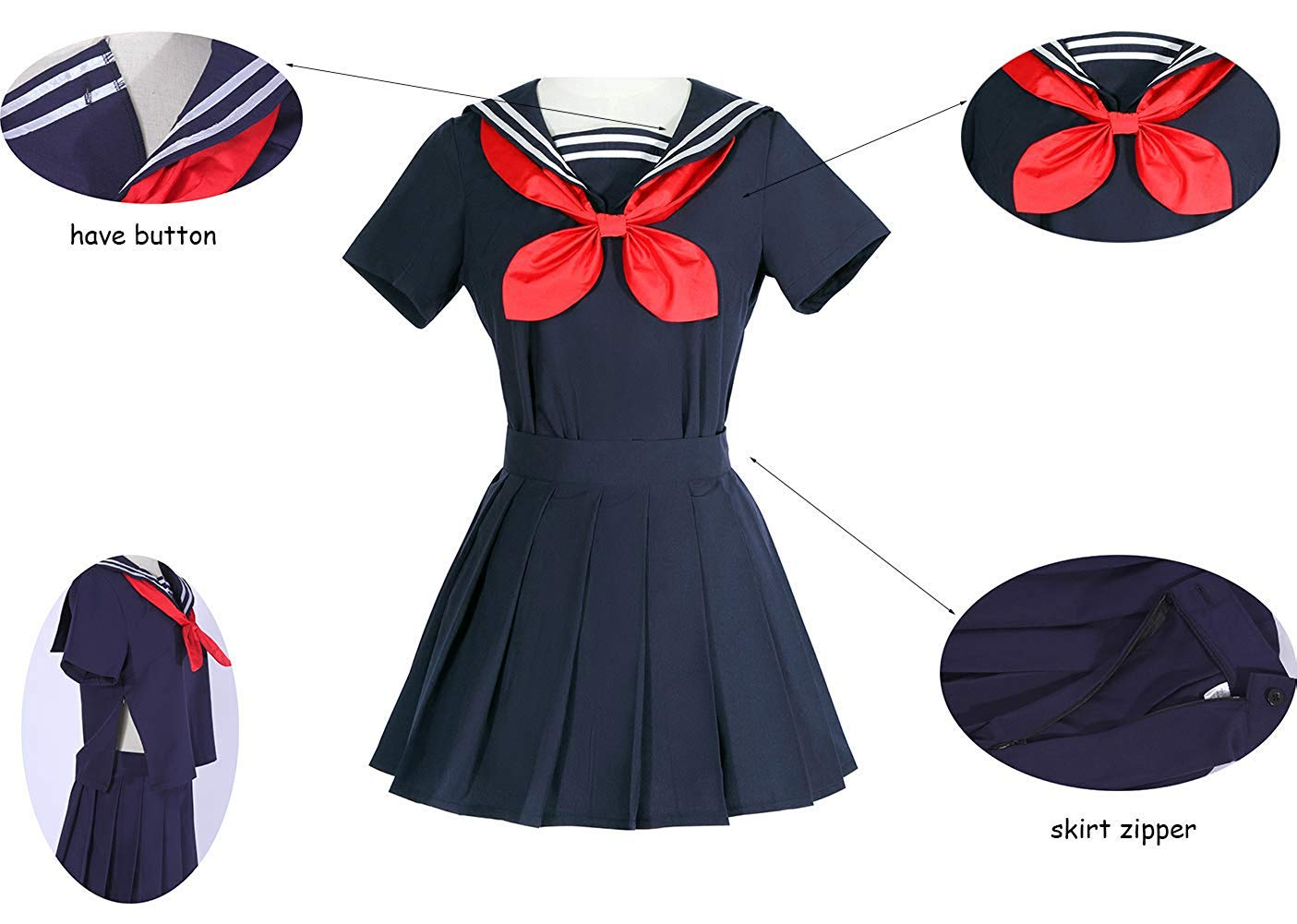 I TRUE ME Himiko Toga Cosplay My Hero Academia Sweater ...