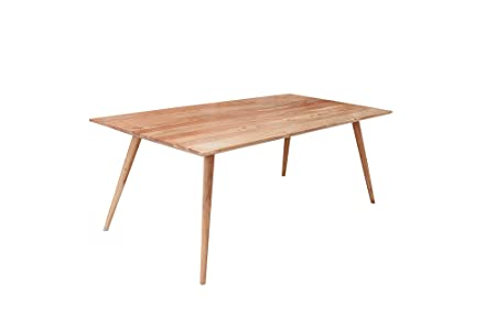DuNord Design JEGUM - Mesa de Comedor (200 cm, Madera de Acacia ...