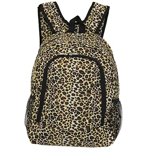World Traveler Multipurpose Backpack 16-Inch, Leopard, One Size