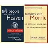 Mitch Albom Collection, 2 Book Set - Five People you meet in Heaven & Tuesdays with Morrie