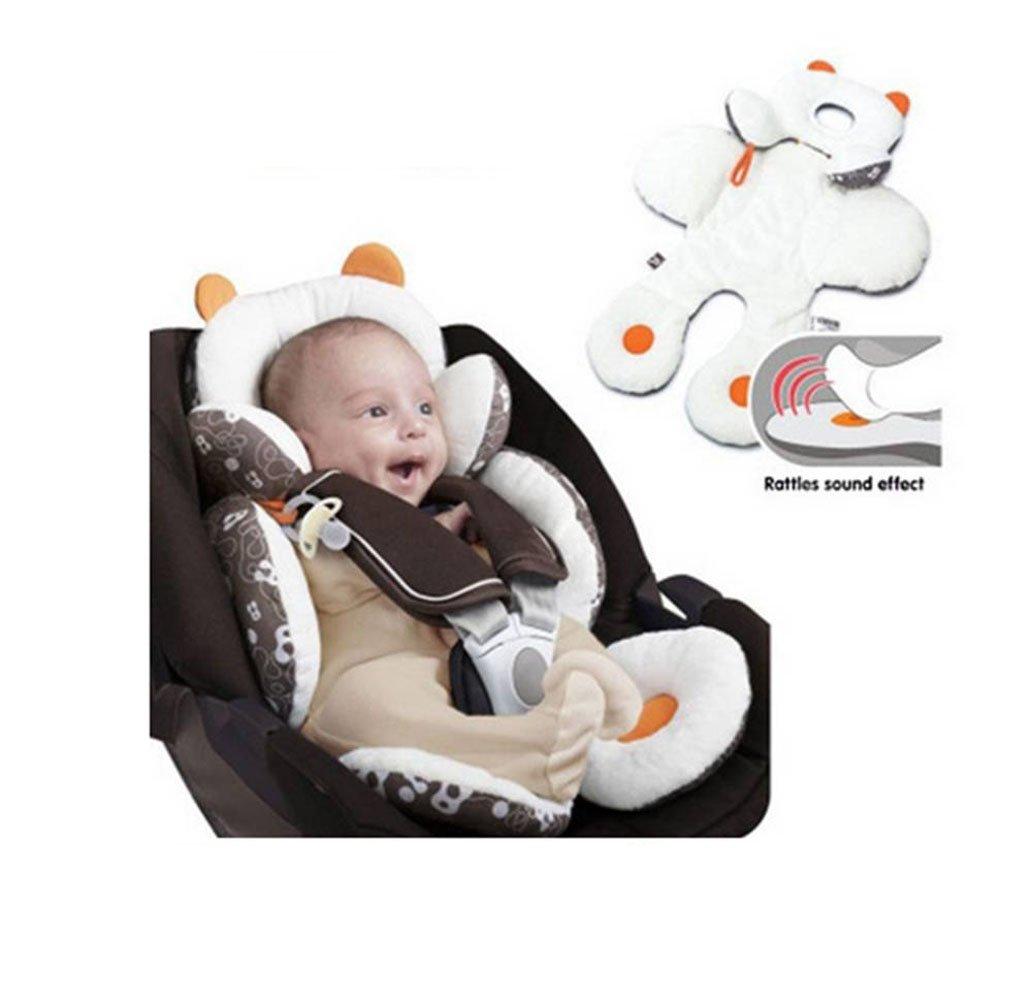 Candora Baby Car Seat Pram Pushchair Stroller Safety Soft Cushion Pad Head Body Support Pillow (S)