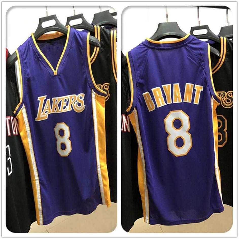 Kobe #8 Lakers Camiseta de baloncesto Hombre Swingman Jersey ...