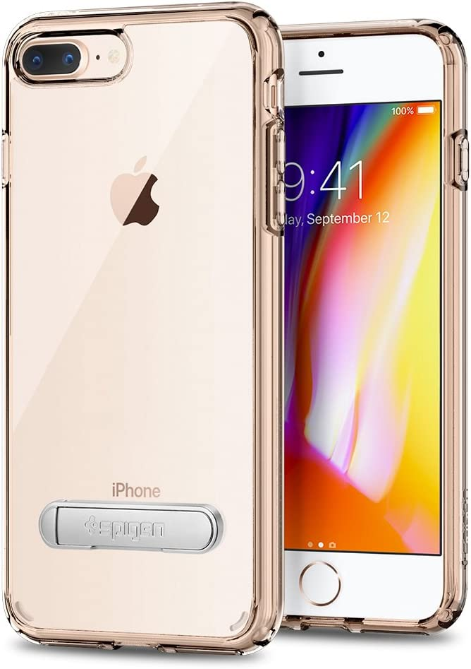 Spigen Ultra Hybrid S [2nd Generation] Designed for Apple iPhone 8 Plus Case (2017) / Designed for iPhone 7 Plus Case (2016) - Crystal Clear
