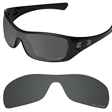 7135f213098 Tintart Performance Lenses Compatible with Oakley Antix Polarized Etched-Carbon  Black