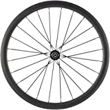 Queen Bike Carbon Bike Wheels 700C Clincher Road Bike Rear Wheel 38mm 1 Piece