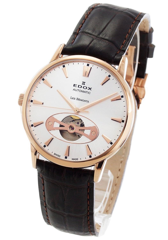 エドックス レベモン オープンハート 腕時計 メンズ EDOX 85021-37R-AIR[並行輸入品] B07CQMXN7Z