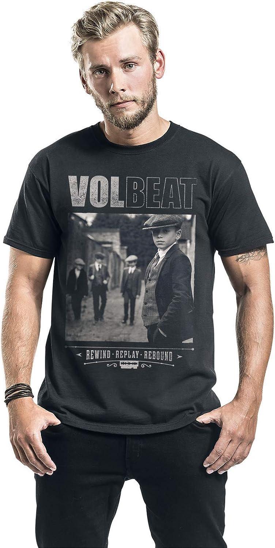 Rewind Volbeat Cover Rebound T-Shirt schwarz Replay