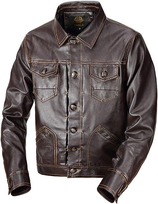メンズPUレザージャケット、秋冬暖かい厚手のコート、本革シャツジャケット