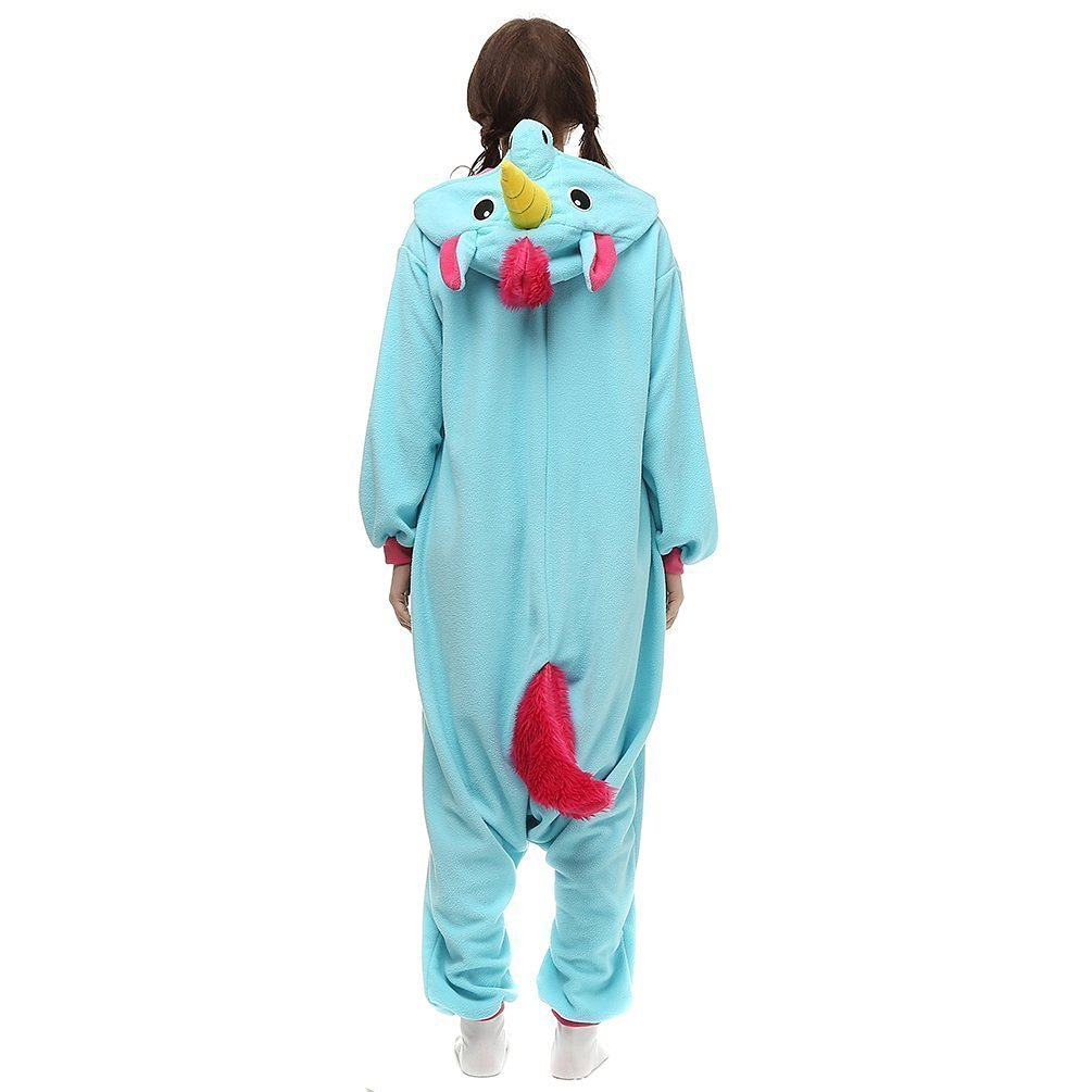 KiKa Monkey Unisex Unicornio Adulto Ropa de Hombre Animal Pijamas Traje de Cosplay Pijamas de Navidad (azul, S): Amazon.es: Juguetes y juegos