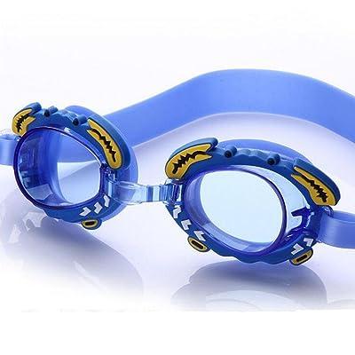 natation dessin animé de Les enfants plus âgés enfants des lunettes étanches lunettes anti-buée enfants lunettes de natation bleu orange rose , C