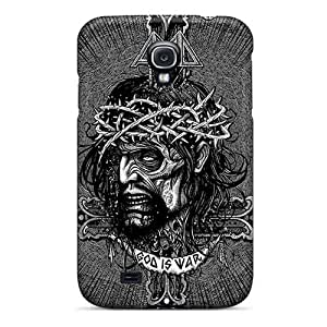 Perfect Cell-phone Hard Covers For Samsung Galaxy S4 (HZl16407poVm) Support Personal Customs Vivid Einherjer Band Pictures