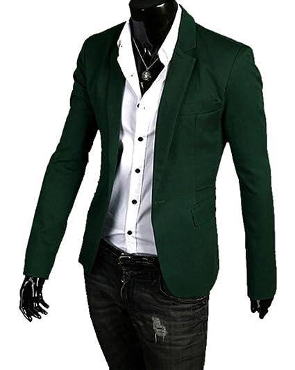 Extraordinaire Veste Decontracté Blazer Slim Fit Costume Jacket Blazer Élégant &HH_74