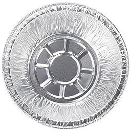 """Paksh Novelty 5"""" Disposable Aluminum Foil Mini Pie Pans [50 Pack] Small Tart Pans, 5"""" x 2 ½"""""""