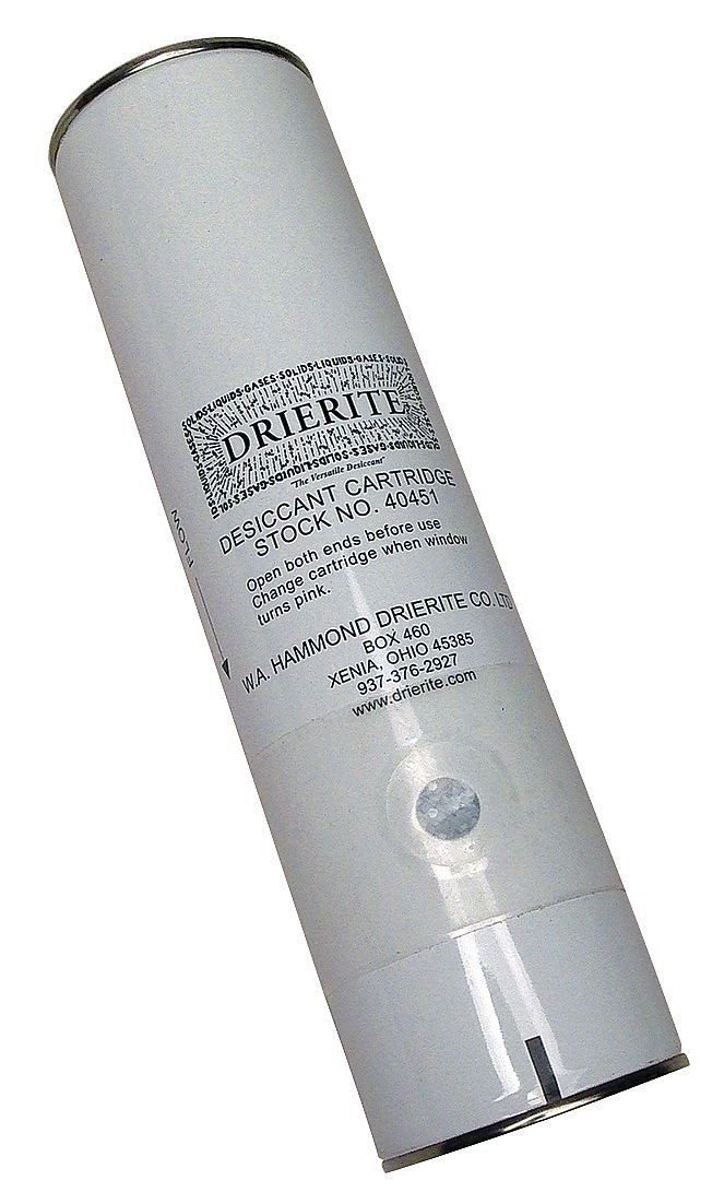 Desiccant Cartridge, Cardboard/Steel