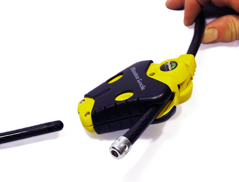 Python Adjustable Cable Locks #8413KA2-6-6 Master Lock