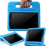 AVAWO Samsung Galaxy Tab A 8.0 2015 Kids Case - AVAWO Light Weight Shock Proof Convertible Handle Stand Kids Friendly for Samsung Tab A 8-Inch SM-T350 Tablet, Blue