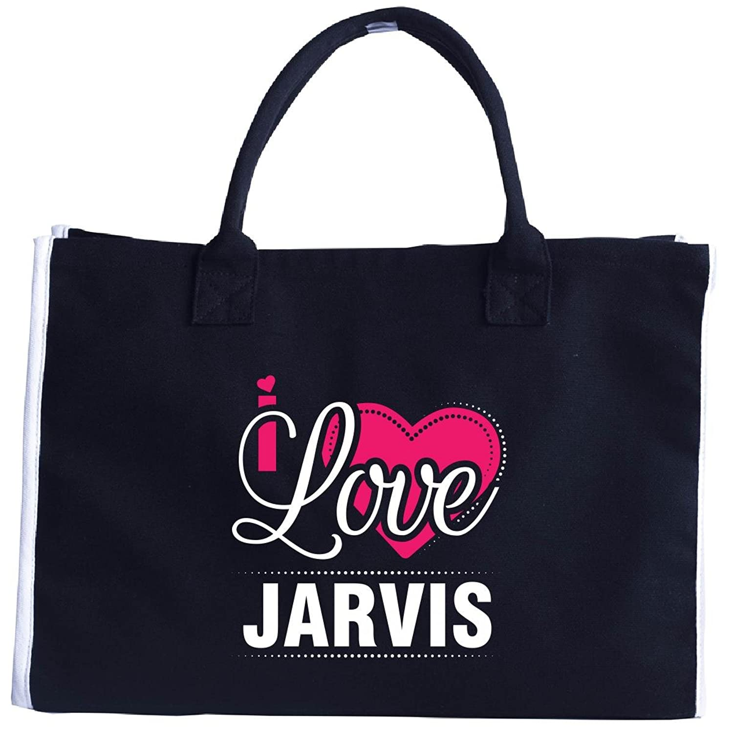 I Love Jarvis - Cool Gift For Jarvis From Girlfriend - Tote Bag