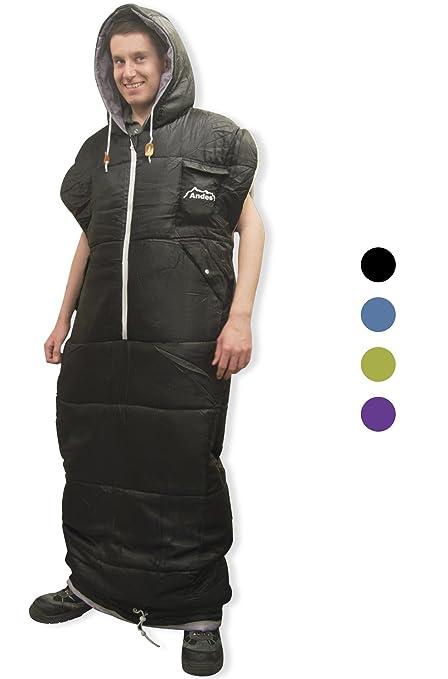 Chaqueta tipo saco de dormir Andes Walker de la marca ANDES®, ideal para llevar