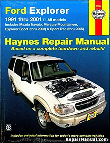 H36024 Ford Explorer Mazda Navajo Mercury Mountaineer Automotive. H36024 Ford Explorer Mazda Navajo Mercury Mountaineer Automotive Repair Manual 19912001 Haynes Manufacturer Amazon Books. Mercury. 97 Mercury Mountaineer Exhaust Diagram At Scoala.co