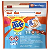 Tide PODS 3 in 1 HE Turbo Laundry Detergent Pacs, Ocean Mist Scent, 20 Count Bag