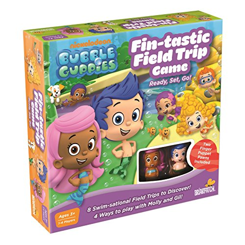Bubble Guppies Game, 10.5 x 10.5