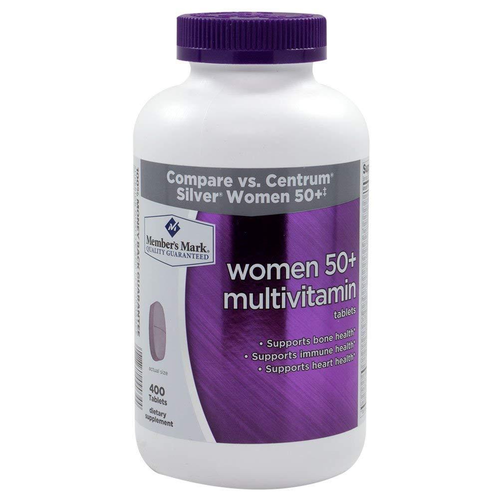 Member's Mark - Women 50+ Multivitamin, 400 Tablets (Compare to Centrum)