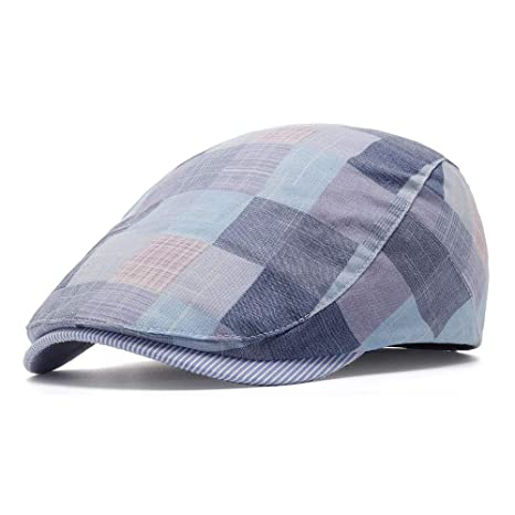 Buy SPA Women Cotton Plaid Flat Beret Caps Ivy Gatsby Newsboy Cap Online at  Low Prices in India - Amazon.in c4571160554
