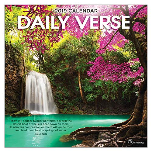2019 Daily Verse Wall Calendar