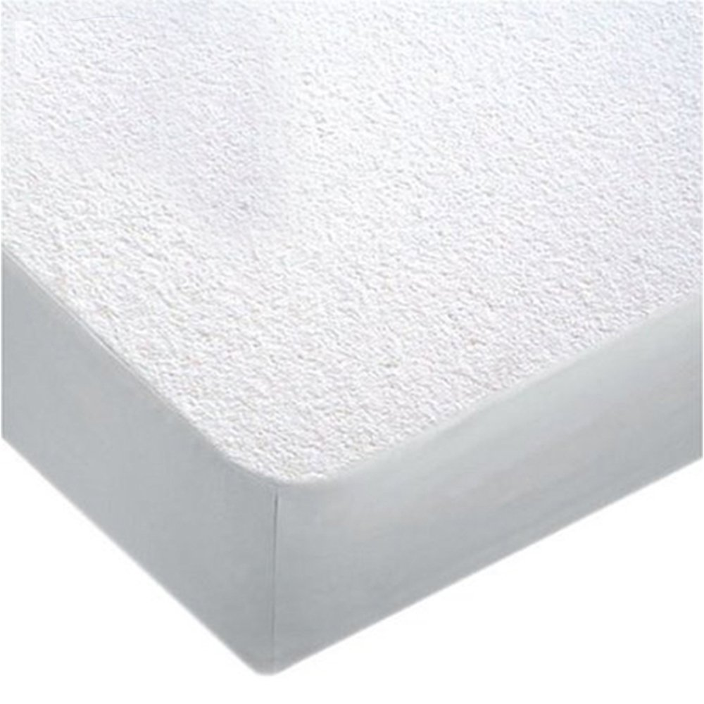 Comfort Shield Terry Crib Mattress Protector with Spill Block ,28''x52''