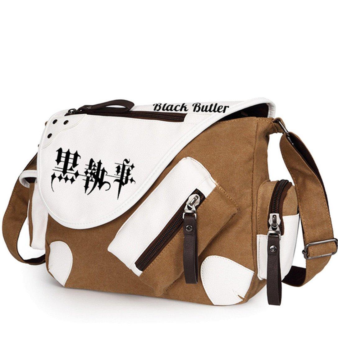 YOYOSHome Anime Black Butler Kuroshitsuji Cosplay Handbag Cross-body Bag Messenger Bag Tote Bag Shoulder Bag