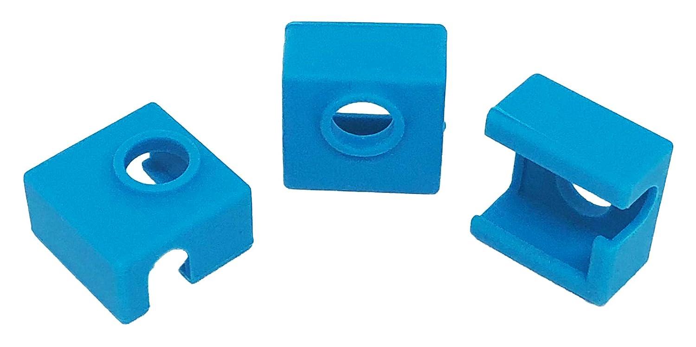 3 Wthings (3 unidades) Impresora 3D de silicona calcetín MK7 / MK8 ...