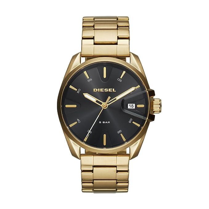 Diesel Reloj Analógico para Hombre de Cuarzo con Correa en Acero Inoxidable DZ1865: Amazon.es: Relojes