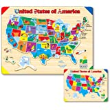 Amazoncom To Years Jigsaw Puzzles Puzzles Toys Games - Owl and mouse us map puzzle