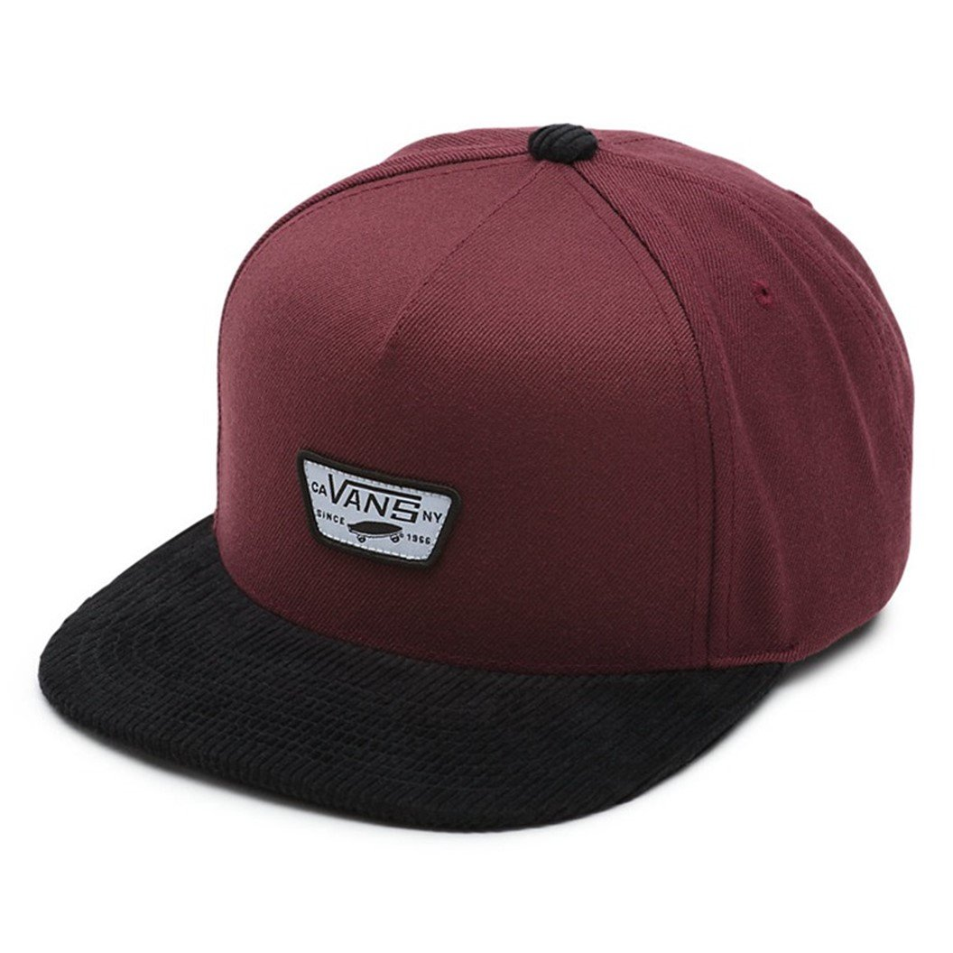 c4706c28 Vans Off The Wall Men's Mini Full Patch Snapback Hat Cap ...