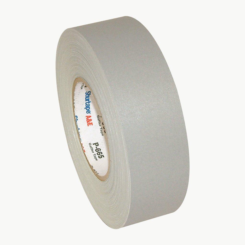 Shurtape P-665 General Purpose Gaffers Tape (Permacel): 2 in. x 55 yds. (Grey)