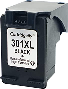 Cartridgeify 301XL Reemplazo HP 301 XL Cartuchos de Tinta Pack Ahorro, Compatible con HP DeskJet 1050a 1510 2050 2510 2540 OfficeJet 2620 4630 Envy 4500 4502 4507 5530 Negro: Amazon.es: Electrónica