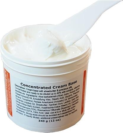 Base de crema concentrada, 340 g: Amazon.es: Belleza